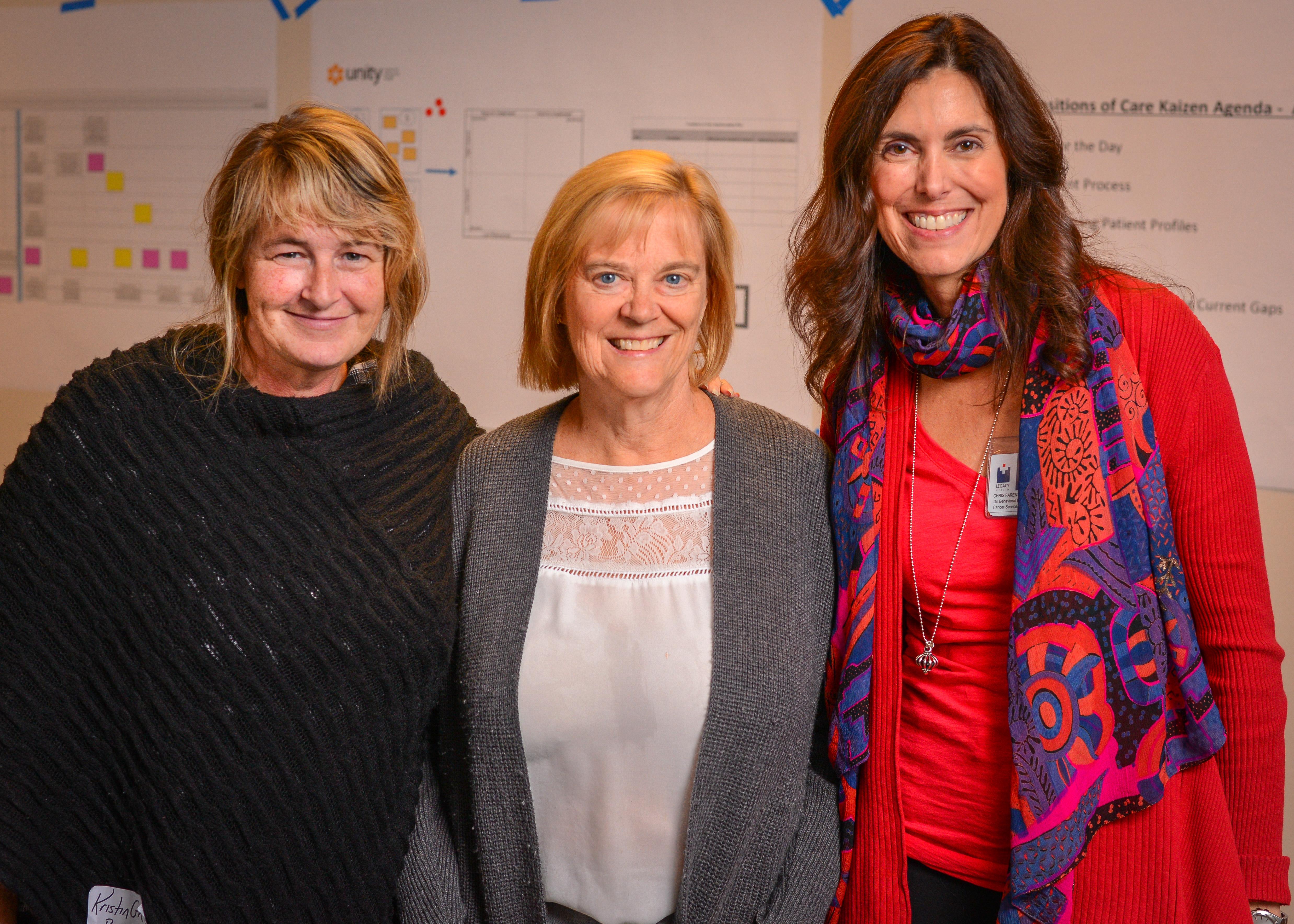 Kristin Griffey, Legacy Health; Ginnie Churchill, Lifeworks NW