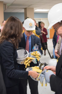Safety First! Wall-Breaking event, Nov. 19, 2015