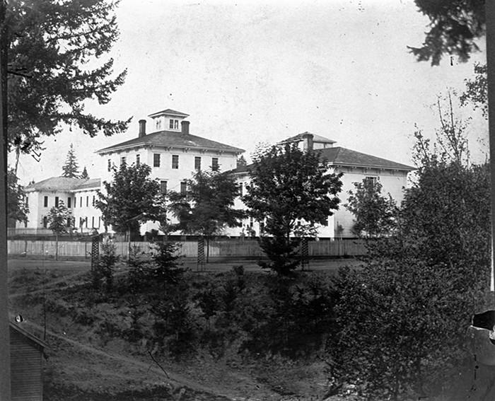 Hawthorne Asylum, ca. 1872